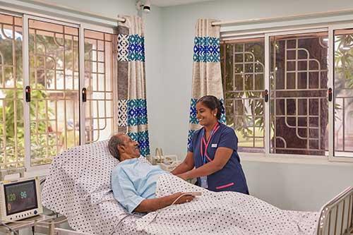 Avoid caregiver stress – get palliative care