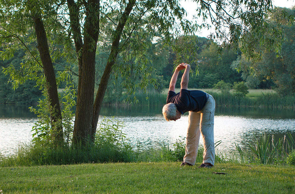Simple exercises for people over 75