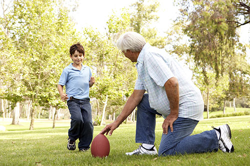 Encourage your senior to stay young